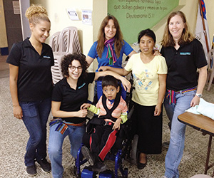 DPT students do volunteering to help provide physical therapy to those in need surrounding Guatemala City Dump