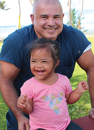 DPT graduate works as a physical therapist and rehabilitation consultant in Guam for Health Services of the Pacific