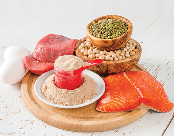 The body needs sufficient protein and nutrition to maximize results during exercise.