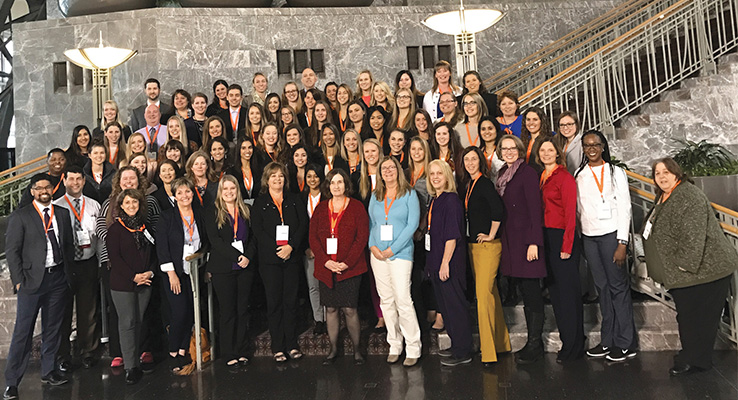 USAHS 2017 AOTA Conference attendees